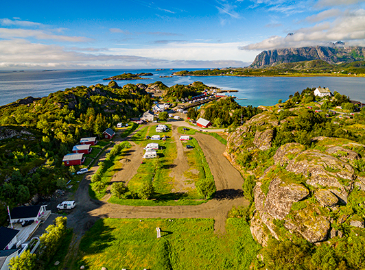 Sandvika Camping - Campingplass og hytter i Kabelvåg